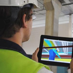 iPad säästää aikaa työmaalla